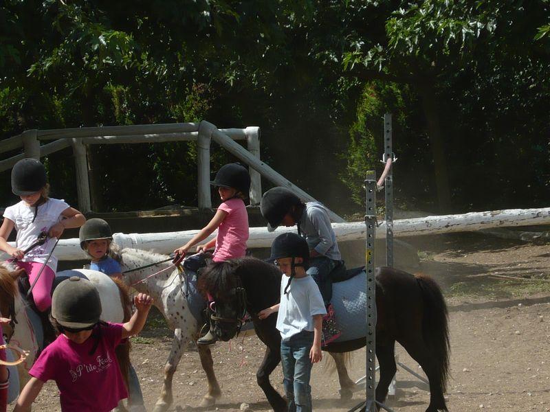 26 Juill 2011 060 E on poney